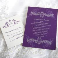 Royal Refinement Wedding Invitations [ING020]