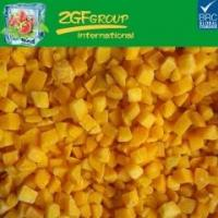 Quality IQF DICED YELLOW PEACH 10MM for sale