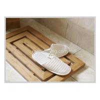 Non-slip Bamboo Bathroom accessories bath Floor Mat