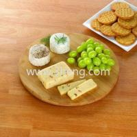 Eco-friendly Bamboo Serving Tray With Round Turns Full Circle
