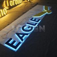 China Front lit and back lit advertising 3d led electronic letter sign on sale