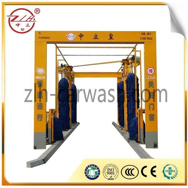 Buy Automatic 6 Brushes Double Layers Tunnel Bus Wash Equipment at wholesale prices