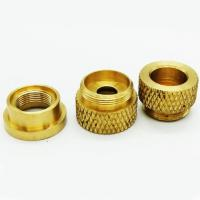 China CNC Injection Molded Brass Nuts and Bolts on sale