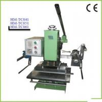 Quality Manual Hot Stamping Machine HM-TC851 for sale