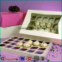 Wholesale 24 Cupcake Paper Box With Window