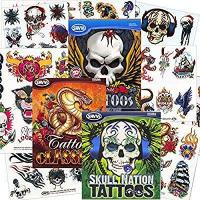 Quality Savvi Classic Tattoos Party Pack (3 Full-sized Bags ~ 125 Tattoos) for sale