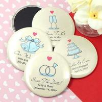 """Quality Personalized Wedding Magnets (2.25"""") for sale"""