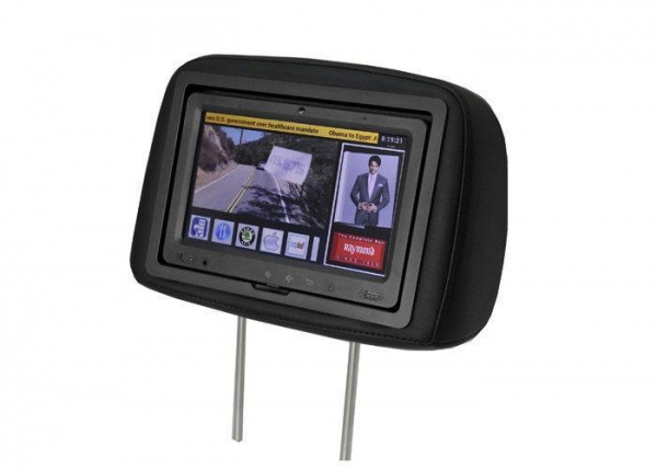 China Taxi Headrest Advertising 9 Android Os Digital Tablet Touchscreen With Customized Software