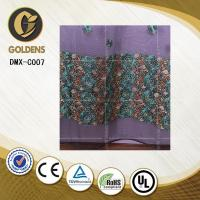 Quality Jacquard embroidery lace curtain fabric made in china DMX-C007 Curtain for sale