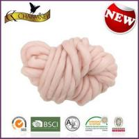 China Charmkey popular thick yarn 100 acrylic hand knitting yarn chunky roving yarn on sale