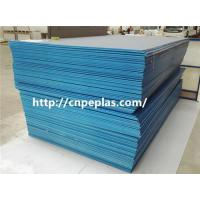 Quality extrusion waterproof HDPE sheet blue color PE300 for sale