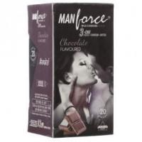 Quality Flavoured Condoms Manforce Chocolate Flavoured Condoms ( 5 Pack of 20) for sale