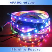 Quality SMD5050 rgb led apa102c led rgb strip 144 led pixel strip for sale