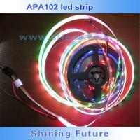 Quality apa102 144 led pixel strip apa102c white or black pcb for sale