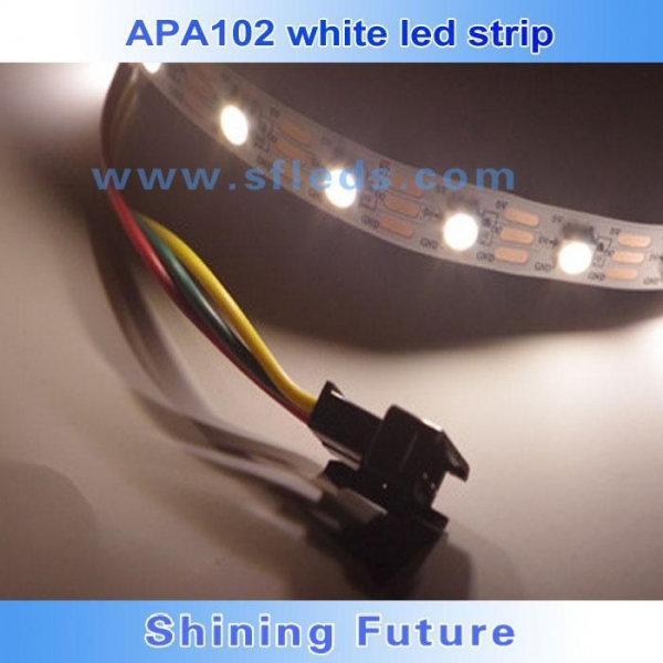 Buy 5v 30/32/60/72/144led flexible apa104 apa102 white/rgbw digital color changing led strip at wholesale prices