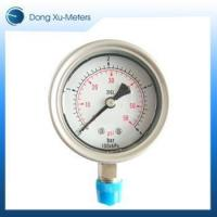 Buy cheap Pressure Gauge All-Stainless Steel Case Pressure Gauge from wholesalers