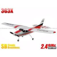 China Skyartec MNCE3X-01 Mini Cessna 3G3X 3CH Propeller RC Airplane RTF w/ 3-Axis Gyro (Red) on sale