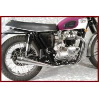 Buy cheap Triumph Exhaust MAC Triumph 650 1963-72 X-MAC-TOR 2 to 2 Chrome Exhaust System from wholesalers