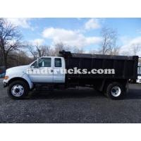 China Single Axle F-750 Landscaping Dump trucks for sale on sale