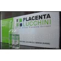 Quality 9 trays Placenta Lucchini Fresh Sheep Placenta Extract 10 ampoules x 2ml / tray for sale