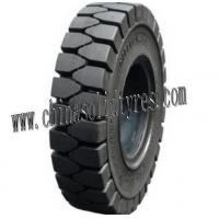 Quality New Rubber Pneumatic Shaped Solid Forklift Tires for sale