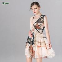 China China professional custom digital printing floral chiffon fabric silk on sale