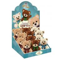 "Quality Bear Plush #1222 Coconut, Cocoa, & Oatie 5"" 3 asst box display for sale"