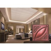 Quality PU Faux Leather Ceiling Tiles for sale