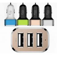 Quality 3 port USB car charger for sale