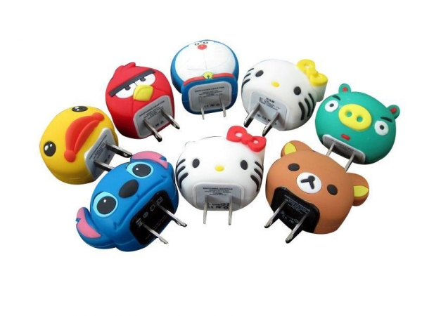 Buy Cartoon toy USB Charger at wholesale prices