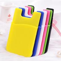 Buy cheap silicone card holder from wholesalers
