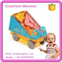 Quality manufacture baby building blocks with wheels for sale