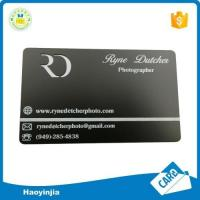Top Quality Brass Blank Metal Cards