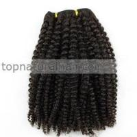 Quality Brazilian Afro Kinky Curly Virgin Hair 3pcs lot Human Hair Weave Free Shipping for sale