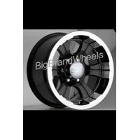 Buy cheap DEVINO WHEELS DV 349 - 18 INCH 18X10 BLACK WHEELS WITH MACHINED LIP-Rims from wholesalers