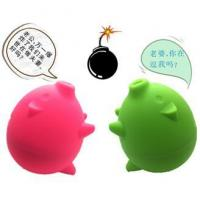 China silicone piggy bank on sale