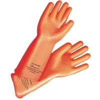 Quality Orange Rubber Hand Gloves for sale