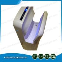 Quality Economic Speedy Dual Hand Dryer Blade Low Noise One Chip Button Control Jet Bathroom Dryer for sale