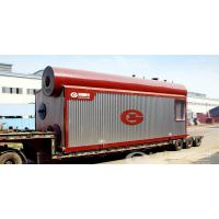 China SZS series horizontal type water tube gas oil fired steam boiler on sale