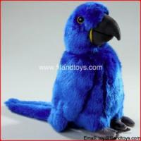 private label Eco hottest best made handmade cute blue soft parrots