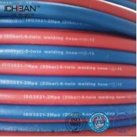 Quality ICHIBAN Gas Flexible Welding Cutting Twin Rubber Gas Flexible Hose for sale
