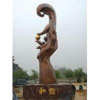 Buy cheap Outer Large Varnished and Hand Brass Sculptures from wholesalers