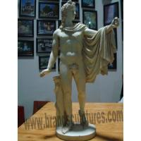 China Handsome and Naked Figure Statues as Contemporary Garden Design on sale