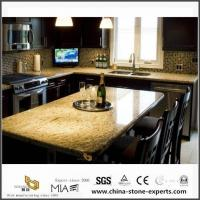 China Affordable Giallo Ornamental Granite Countertops for Kitchen and Bath on sale