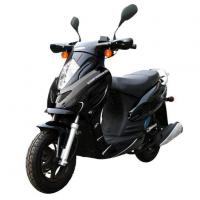 China Popular Adults 125CC Black Electric Motor Scooters for Sale on sale