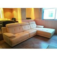 Quality L shape leather sofa 8201 for sale