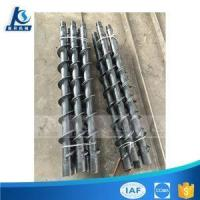 Quality Twist Spiral Drill Rod Or Auger Drill Pipe For Soil Sand Drilling for sale