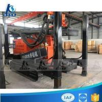 Quality 300m 400m 600m 800m Depth Diesel Engine Hydraulic Crawler Mounted Water Well Geothermal Drilling Mac for sale