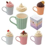 Quality Puckator Cutesy Cupcake Ceramic Mug with Lid by Puckator for sale