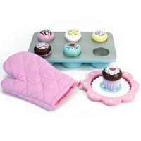 Buy cheap Melissa & Doug Bake and Decorate Wooden Cupcake Play Food Set from wholesalers